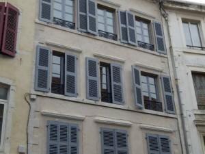 Ravalement de façades Rue des Cordeliers à Pau (64)