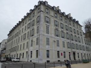 Ravalement de façades Boulevard des Pyrénées à Pau (64)