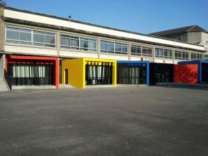 Peintures extérieures et intérieures Lycée Louis Barthou à Pau (64)